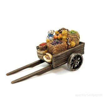Wooden cart (PAINTED)