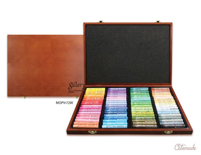 Набор масляной мягкой пастели Mungyo Gallery «72 цвета»