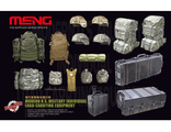 Сборная модель: (MENG SPS-015) Modern U.S. Military Individual Load-Carrying Equipment