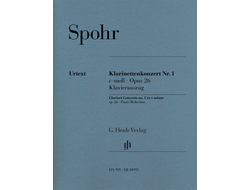 Spohr Clarinet Concerto no. 1 c minor op. 26