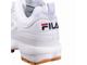 Кроссовки Fila Disruptor 2 White and Brown (36-40)