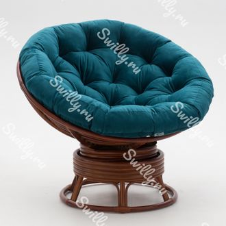 Кресло Swilly Swivel Papasan 7 орех