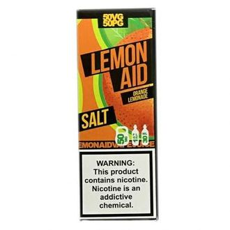 Lemon aid SALT Orange lemonade 30мл 30мг