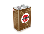 MJ-120. MITASU MOTOR OIL SN 5W-30 ILSAC GF-5 Synthetic Blended