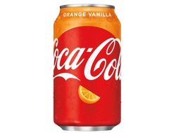 Coca Cola Orange Vanilla 0,355мл США