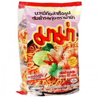 Instant Noodles Shrimp Tom Yum Flavour 55 g