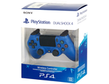 Геймпад для консоли PS4 PlayStation 4 DualShock 4 v2 Blue (CUH-ZCT2E)