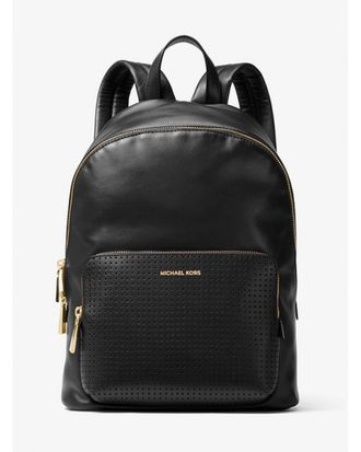 РЮКЗАК MICHAEL KORS WYTHE LARGE PERFORATED LEATHER BACKPACK BLACK 3
