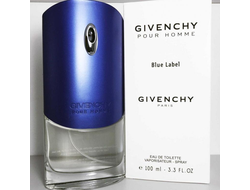 "Givenchy ""Pour Homme Blue Label"" 100 ml тестер"