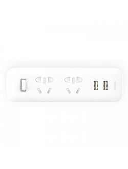 Cетевой адаптер Xiaomi Mi Power Strip 2 sockets2 USB ports белый