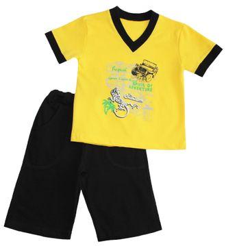Комплект для мальчика (Артикул 2151-342) цвет жёлтый