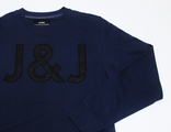 Свитшот Jack & Jones Logo JJ Темно-Синий