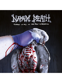NAPALM DEATH - Throes of Joy in the Jaws of Defeatism CD