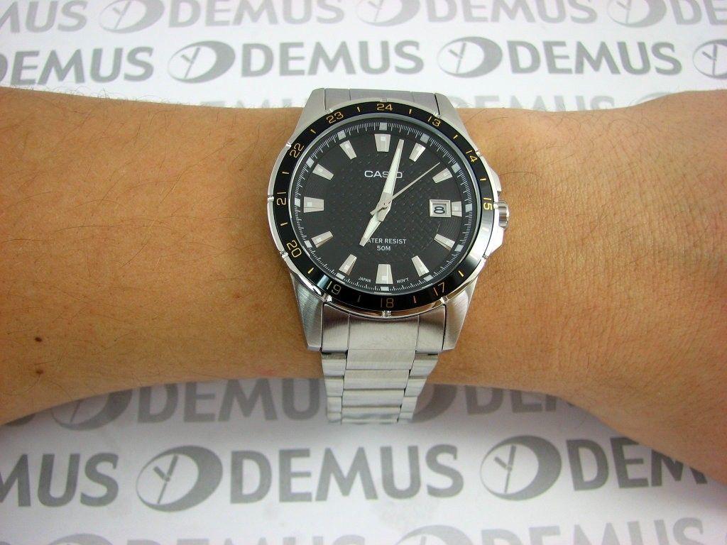 d398915c Мужские японские наручные часы Casio MTP-1290D-1A2 купить в интернет ...
