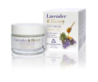 КРЕМ ДЛЯ ЛИЦА ЛАВАНДА и МЕД  LAVENDER AND HONEY  50 МЛ