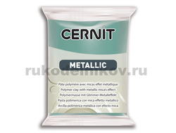 Cernit Metallic gold blue 054