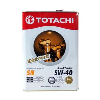TOTACHI Grand Touring F. Synt SN 5W-40 4л