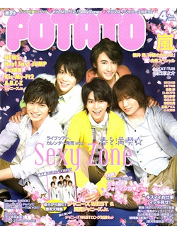 Potato Magazine, Японские журналы, J-Rock J-POP Magazine, Japan Magazine, Intpressshop
