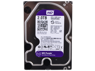 Жесткий диск 2TB SATA-3 Western Digital WD20PURX Purple cache 64MB