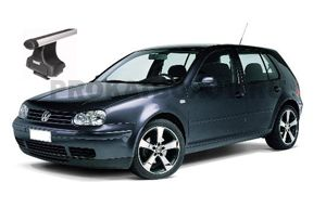 Дуги THULE для VW Golf IV (4)
