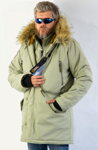 Куртка мужская Expedition Silver Green/Olive