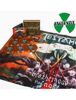 TESTAMENT Brotherhood of the snake MAILORDER EDITION BOX