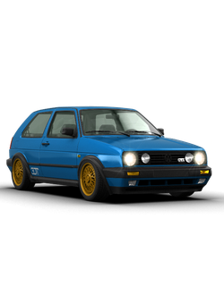 Обвес Volkswagen Golf 2