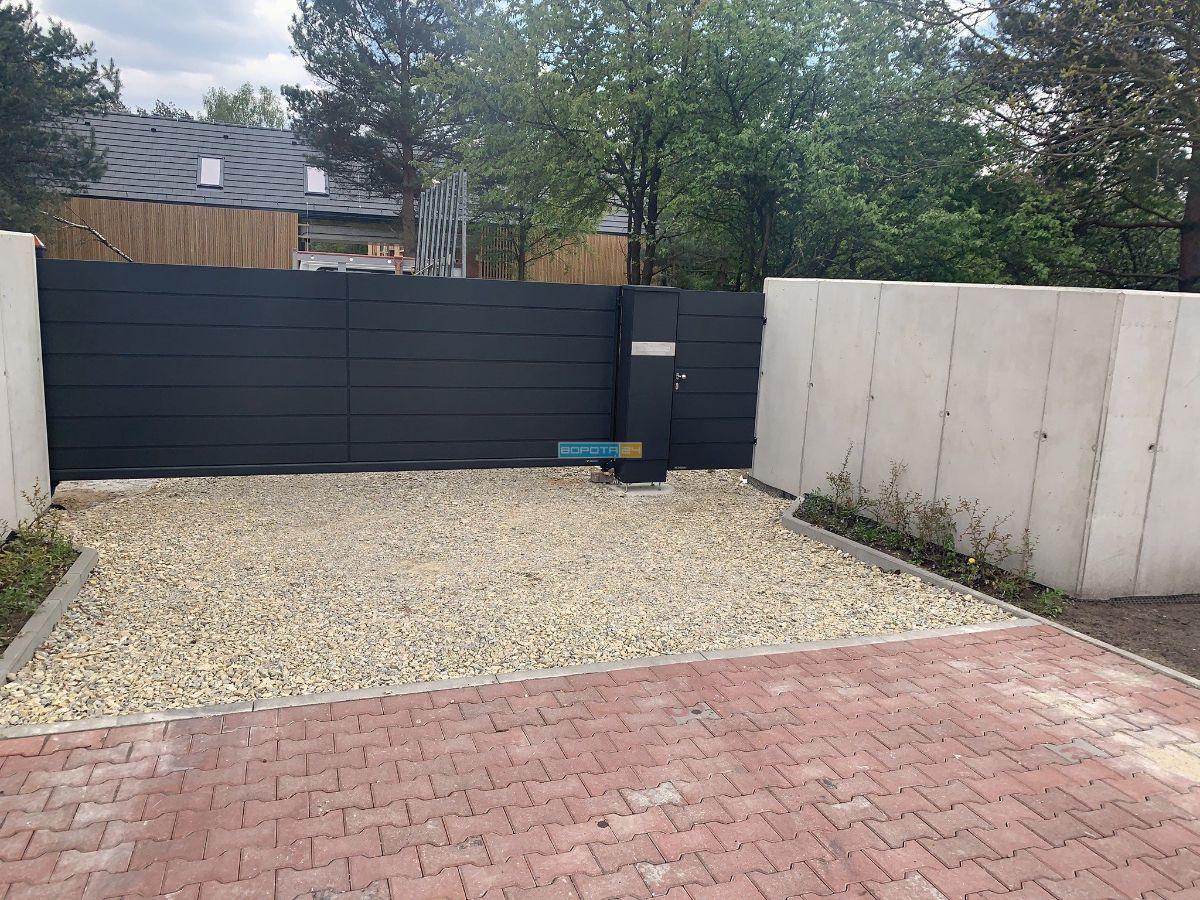 изготовление уличных ворот решетчатые ворота для въезда