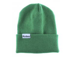 Шапка ZDES - basic (green)