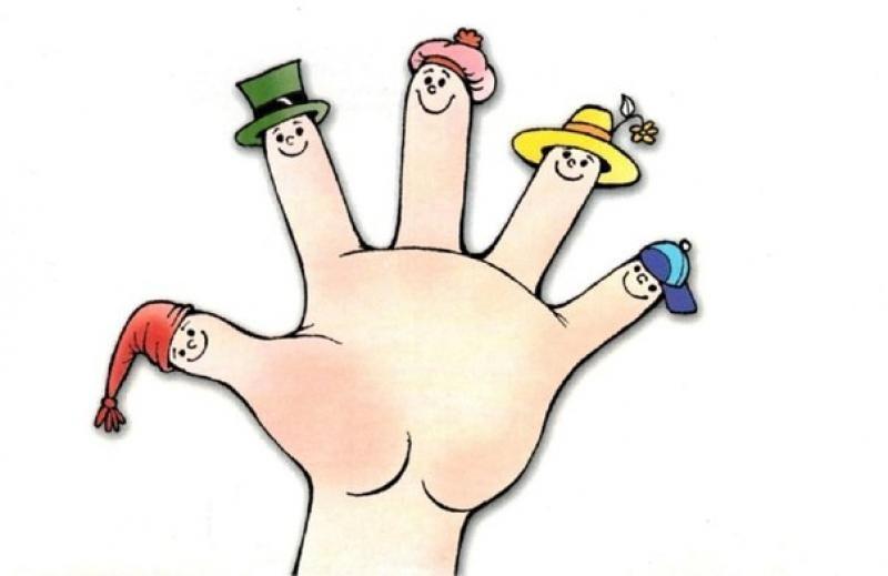 Картинка ручки с пальчиками