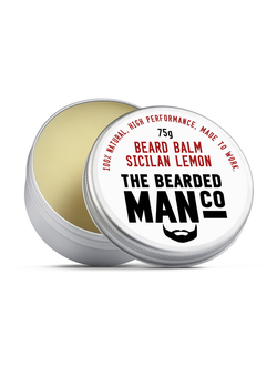 Бальзам для бороды The Bearded Man Company, Sicilian Lemon (Сицилийский лимон), 75 гр
