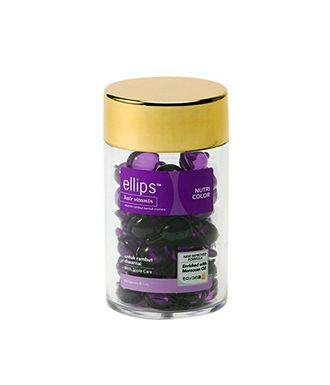 Ellips Hair Vitamin Nutri Color, 50 капсул