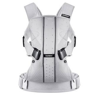 Рюкзак Кенгуру BabyBjorn One Air Mesh Серебряный