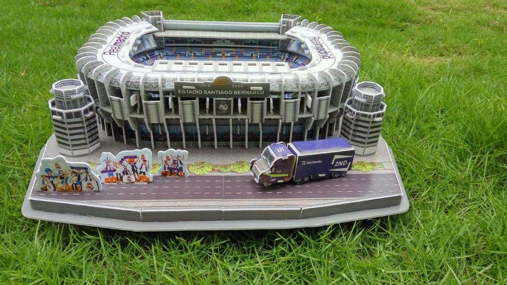 Футбольный стадион реал мадрид испания пазлы