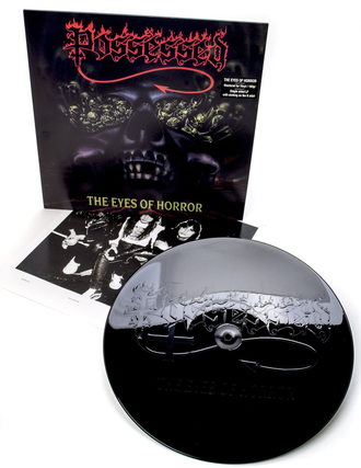 POSSESSED - The Eyes Of Horror EP Re-issue 2019