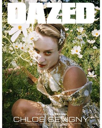DAZED & CONFUSED Magazine Winter 2019 Chloë Sevigny Иностранные журналы Photo Fashion, Intpress