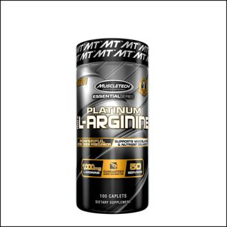 Донатор азота Muscle Tech l-arginine platinum 100 cap