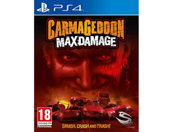 Купить PS4 Carmageddon Max Damage (б/у)