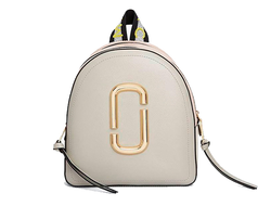 MARC JACOBS Logo Strap Pack Shot Backpack DUST MULTI