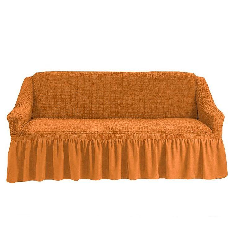 Чехол на диван, Рыжий 208