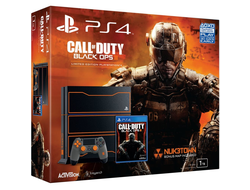 PlayStation 4 (1TB) (РСТ)+Call of Duty: Black Ops III Exclusive