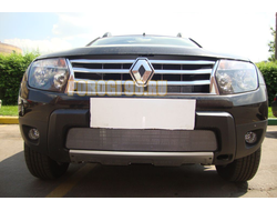 Защита радиатора Renault Duster 2011-2015 chrome