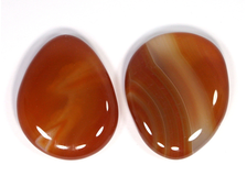 Сердолик, полировка плоская в ассортименте, Ботсвана (40-45 мм, 20-25 г) №20929