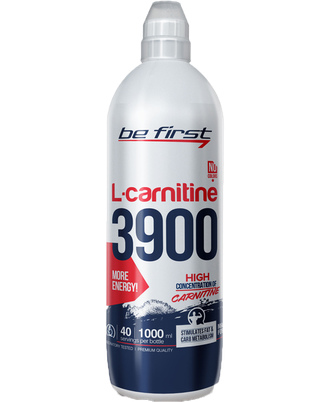 L-carnitine 3900 мг Be First 1000 мл