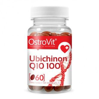 OstroVit Ubichinon Q10 100mg 60 caps