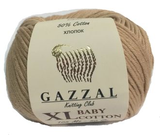 GAZZAL BABY COTTON XL 3424 бежевый