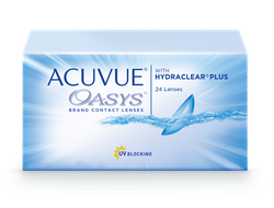 ACUVUE® OASYS with HYDRACLEAR® PLUS (24 линзы)
