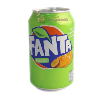 Fanta Exotic, 330 ml, Европа