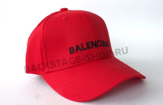 Бейсболка balenciaga Red