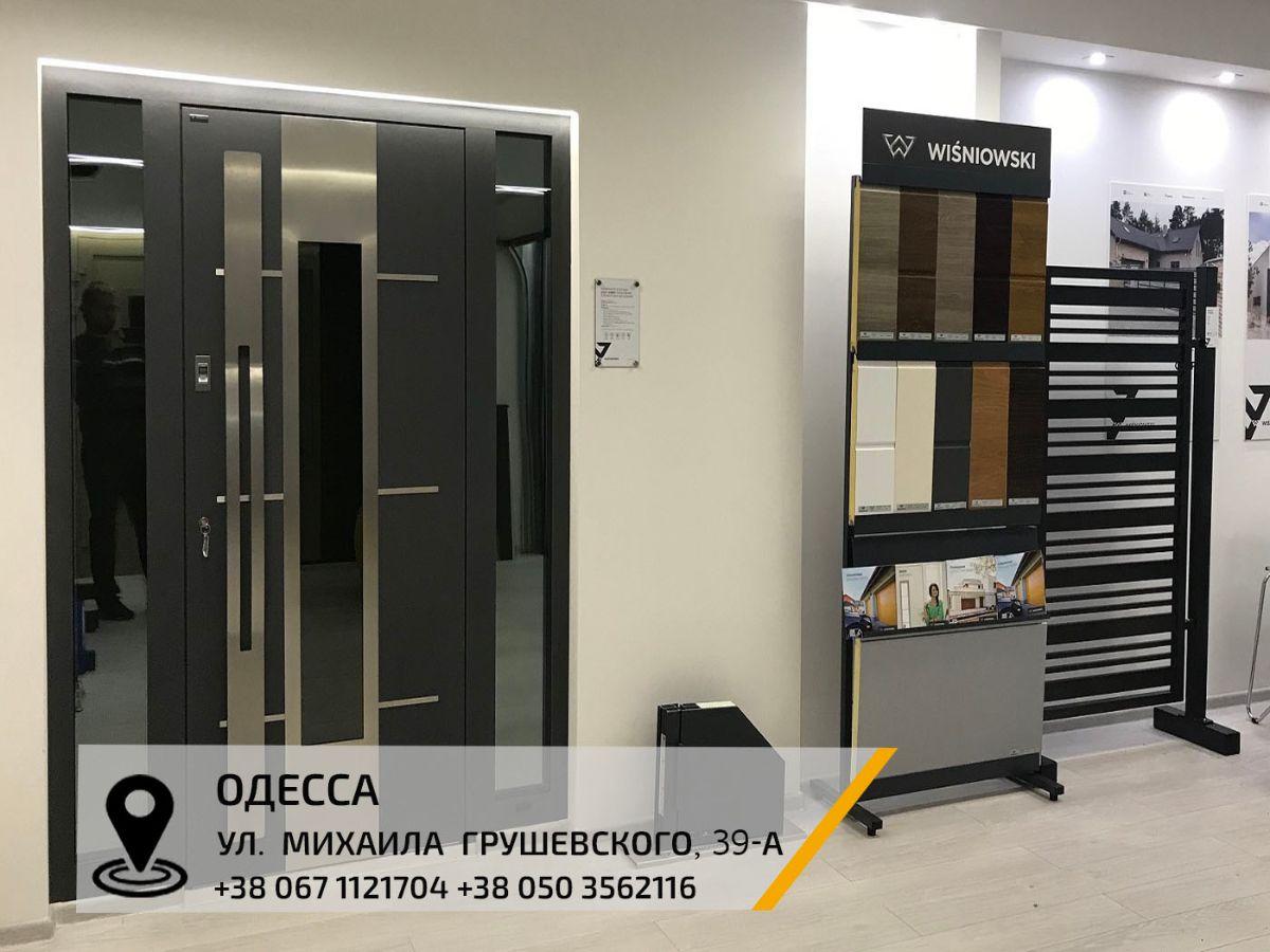 Двери алюминиевые входные и ворота в дом - SELECT